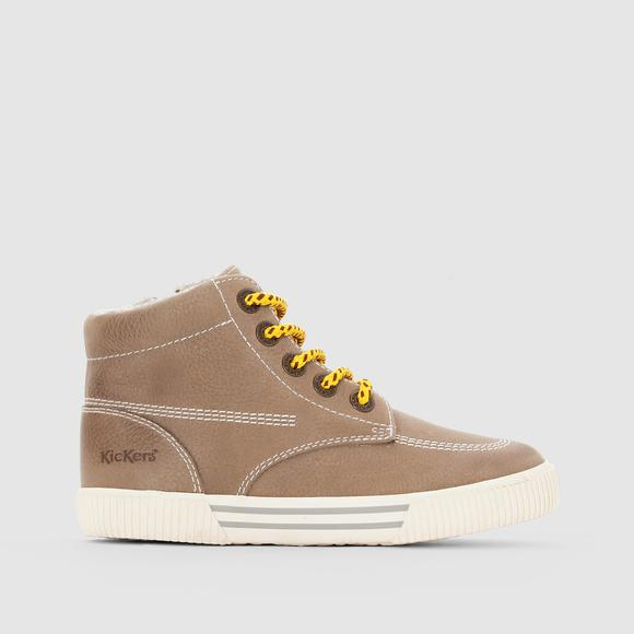 PERGOLA High Top Leather Trainers
