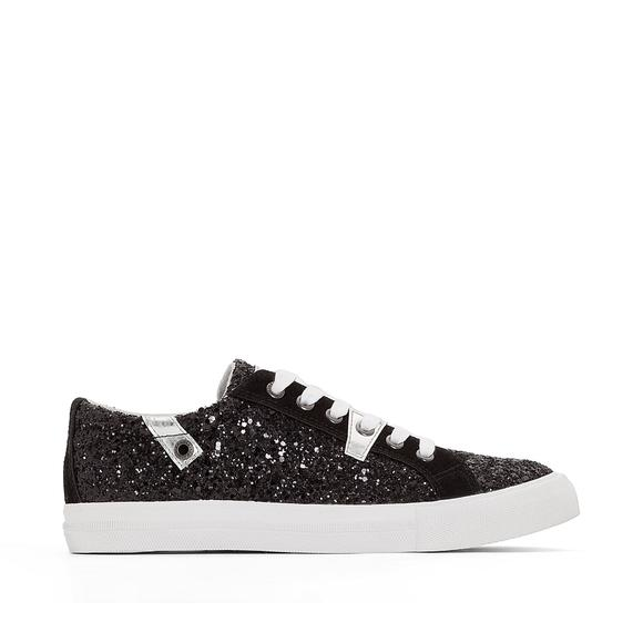 Amber Sparkly Trainers