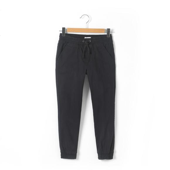 Cotton Trousers with Elasticated Waist And Ankles