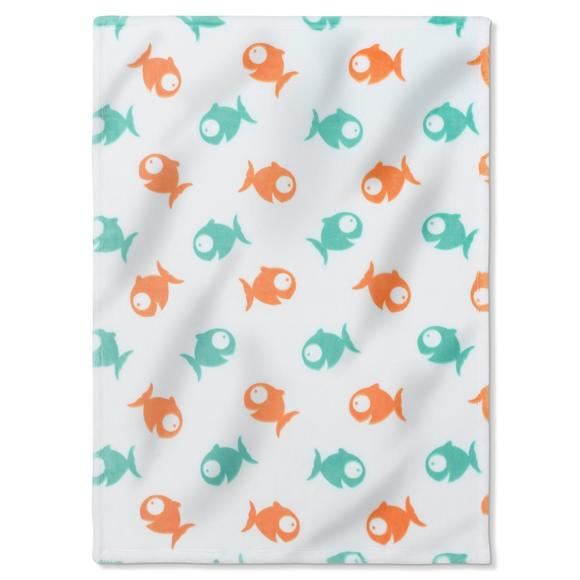 Little Fish Extra Soft Fleece Throw