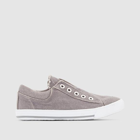 Boy's Low Top Elasticated Trainers