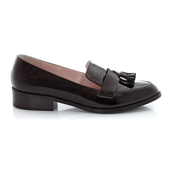 Tassel Trim Loafers