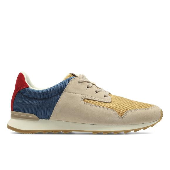Floura Mix Suede Leather Trainers