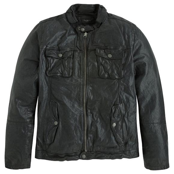 Ryan Leather Biker Jacket