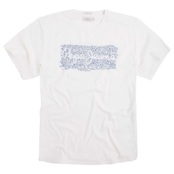 Cluster T-Shirt with Printed Motif